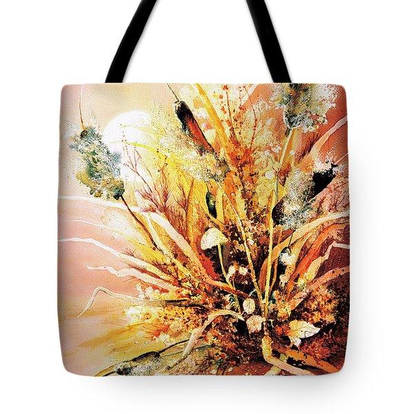 Sunlite Cattails Tote Bag