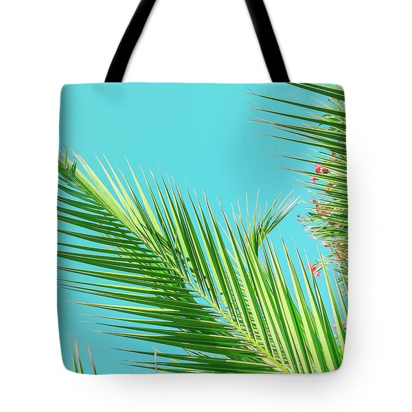 Tote Bag featuring the photograph Sunny Paradise II by Anne Leven