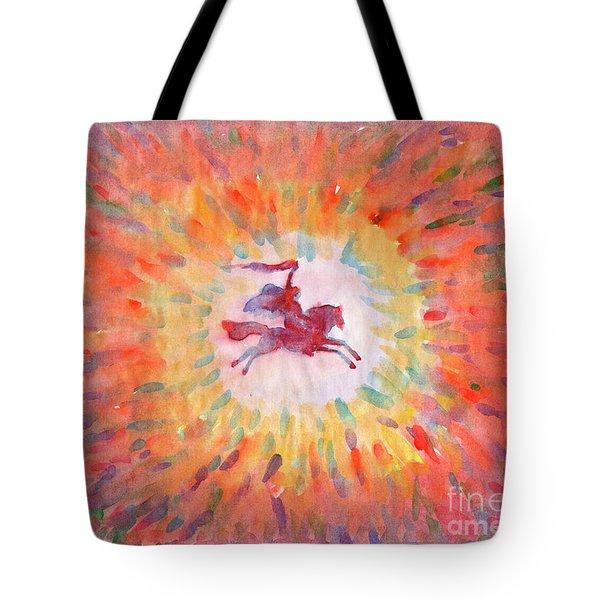 Sunny Rider Tote Bag