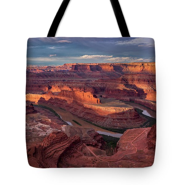 Sunrise At Dead Horse Point State Park Tote Bag