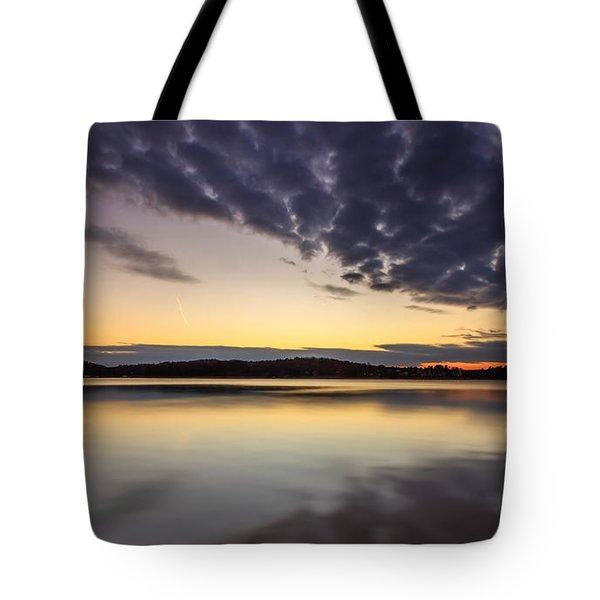 Tote Bag featuring the photograph Sunrise by Bernd Laeschke