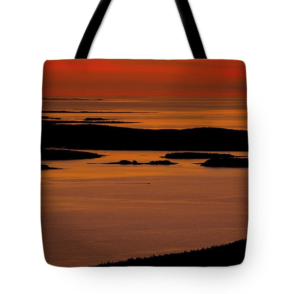 Sunrise Cadillac Mountain Tote Bag