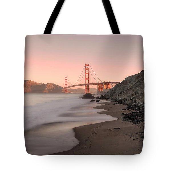Sunrise In San Fransisco- Tote Bag