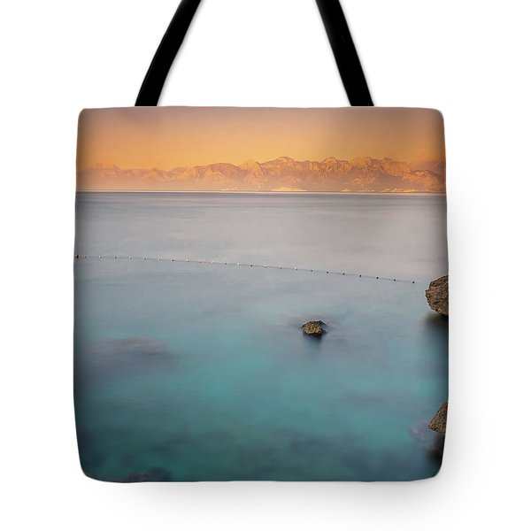 Tote Bag featuring the photograph Sunrise In Turkey by Francisco Gomez