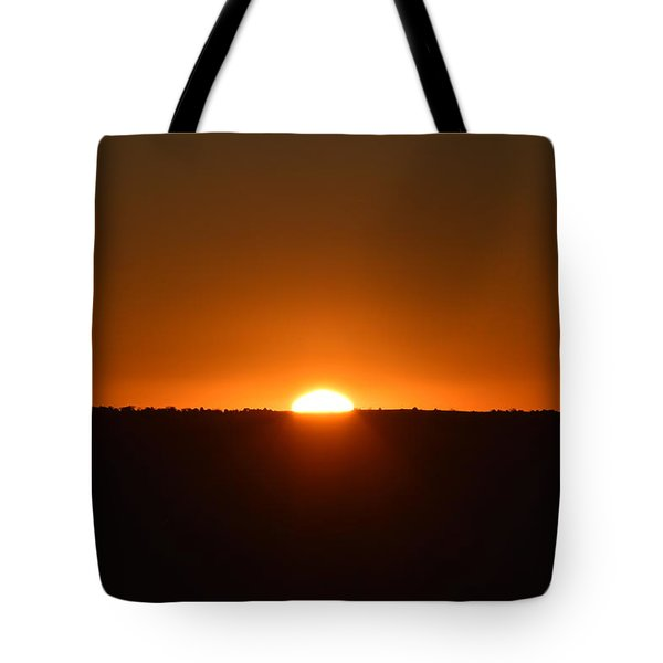 Tote Bag featuring the photograph Sunrise by Margarethe Binkley