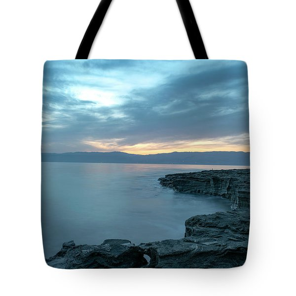 Before Dawn At The Dead Sea Tote Bag