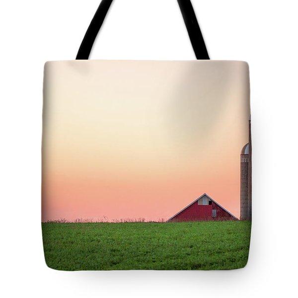 Sunrise Silos Tote Bag