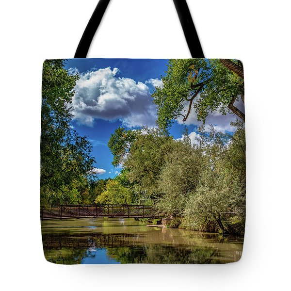 Sunrise Springs Tote Bag