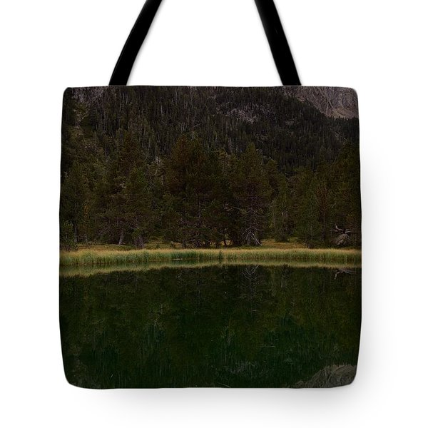 Tote Bag featuring the photograph Sunset At Ibonet De Batisielles by Stephen Taylor
