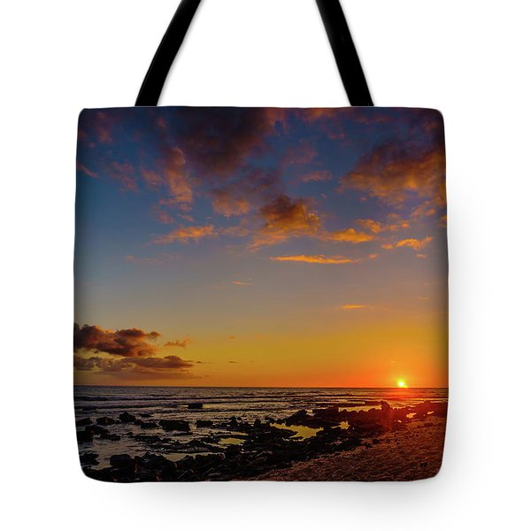Sunset At Kailua Beach Tote Bag