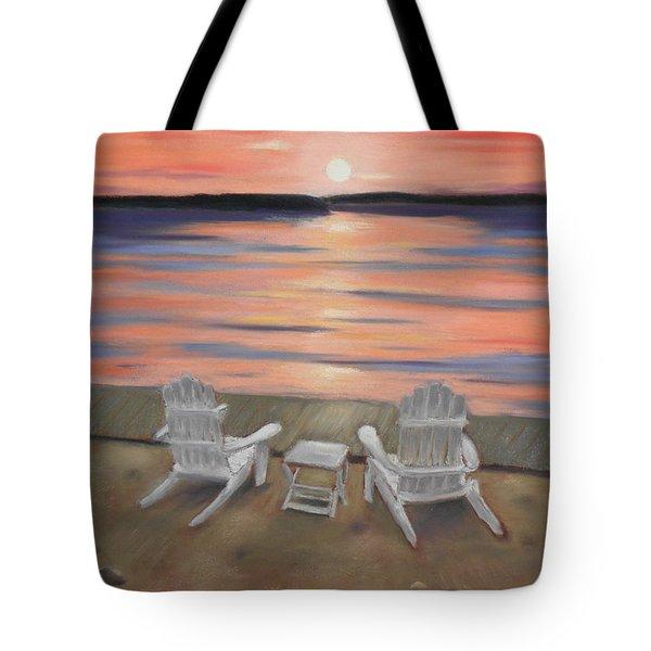 Sunset At Mairs Tote Bag