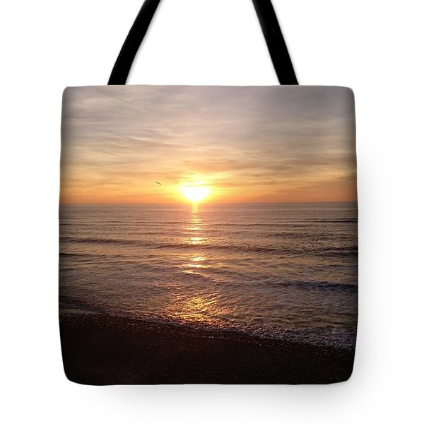 Sunset Blackpool Tote Bag