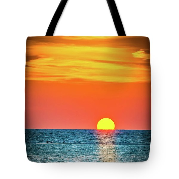 Sunset Captiva  Tote Bag