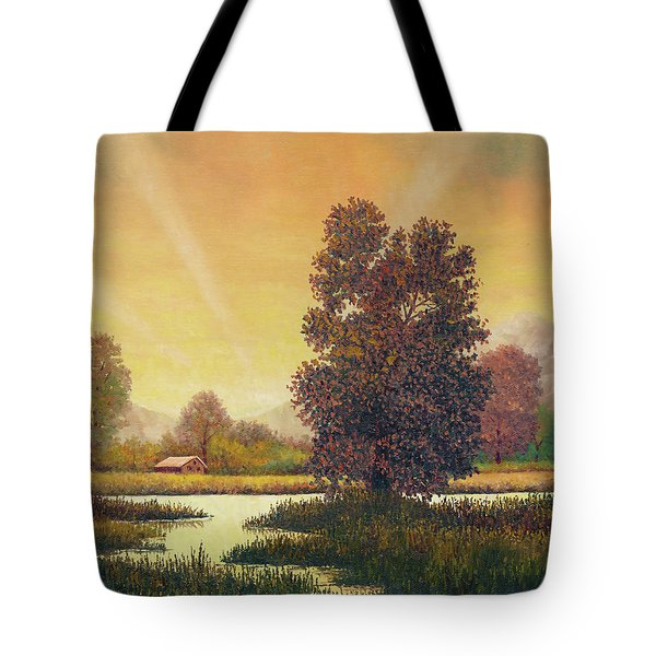 Sunset Color Tote Bag
