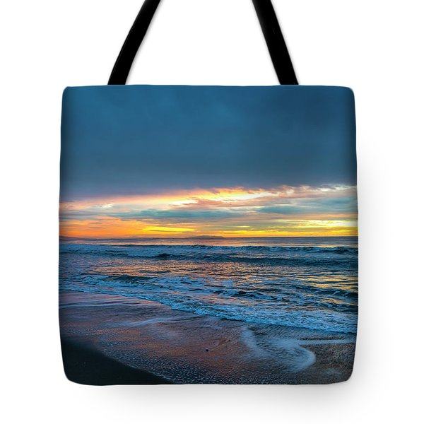 Sunset Fire Over Catalina Island 2 Tote Bag