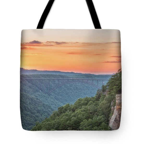 Sunset Flare Tote Bag