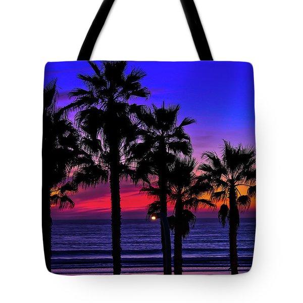 Sunset From The Ocean Park Inn Tote Bag