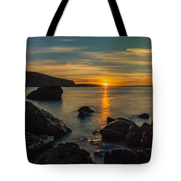 Sunset In Balandra Tote Bag