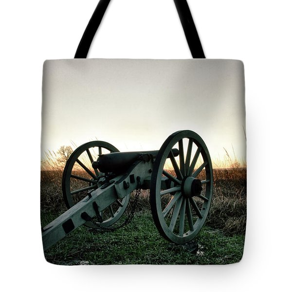 Sunset In Defense Tote Bag