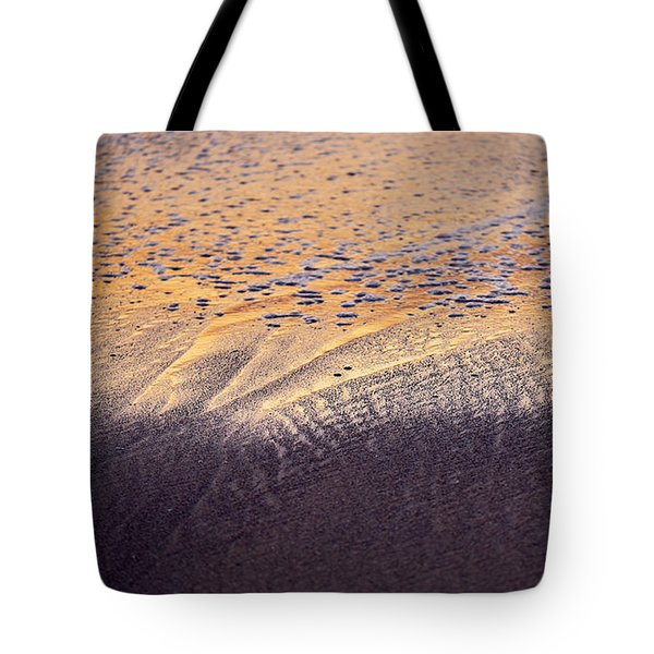 Tote Bag featuring the photograph Sunset In The Sand by Whitney Goodey