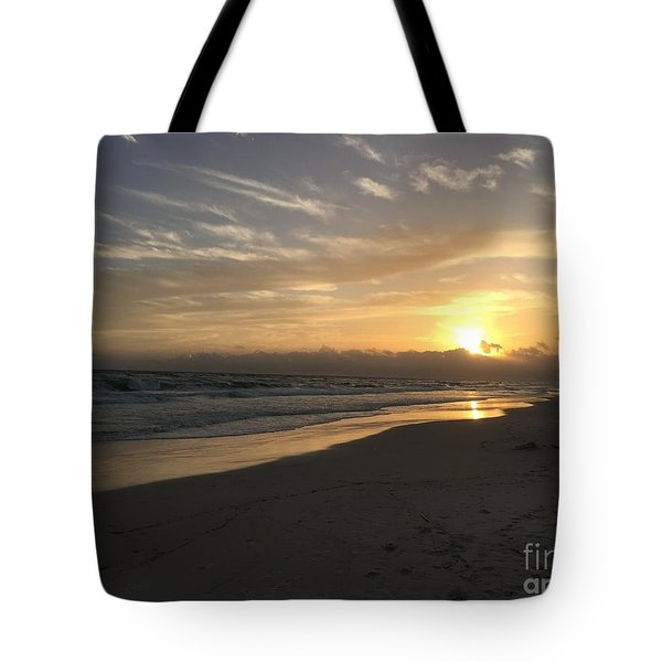 Sunset On 30a Tote Bag