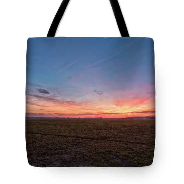 Sunset Pastures Tote Bag