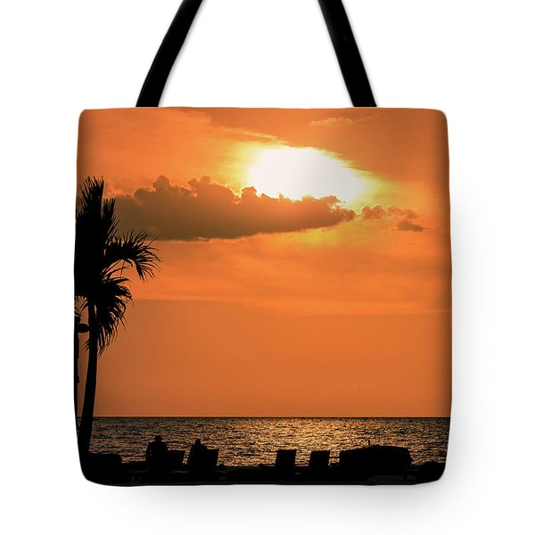Sunset - St Pete Beach Tote Bag