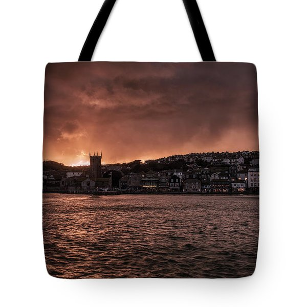 Sunset Harbour Tote Bag