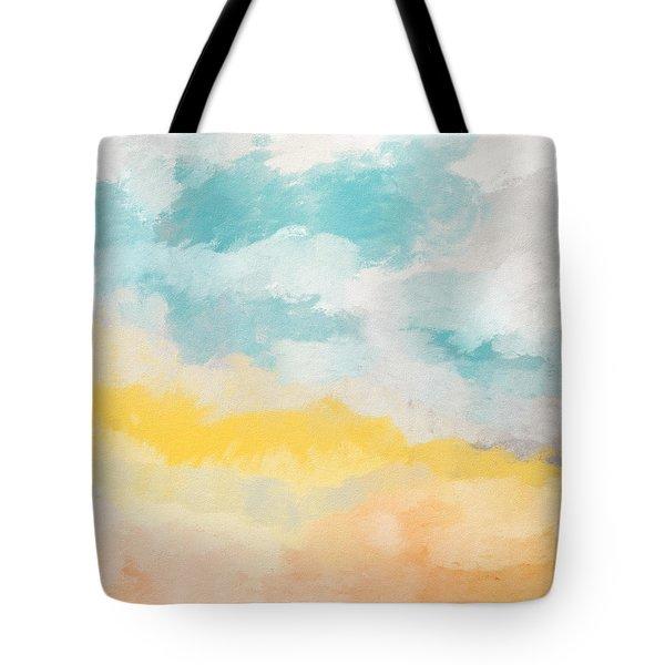 Sunshine Day- Art By Linda Woods Tote Bag