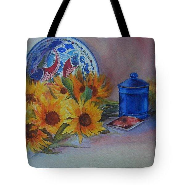 Sunshine In The Kitchen Tote Bag