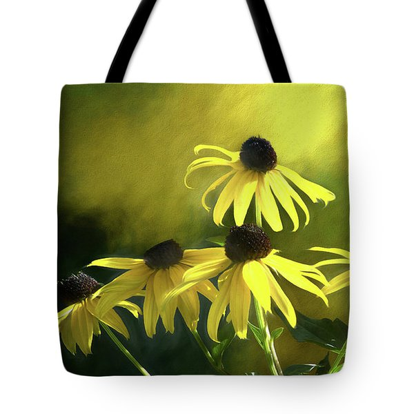 Sunshine On Black Eyed Susan Tote Bag