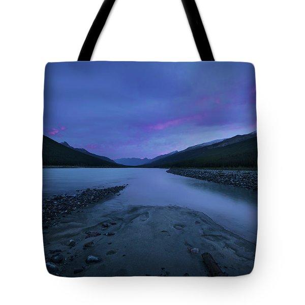 Sunwapta River Tote Bag