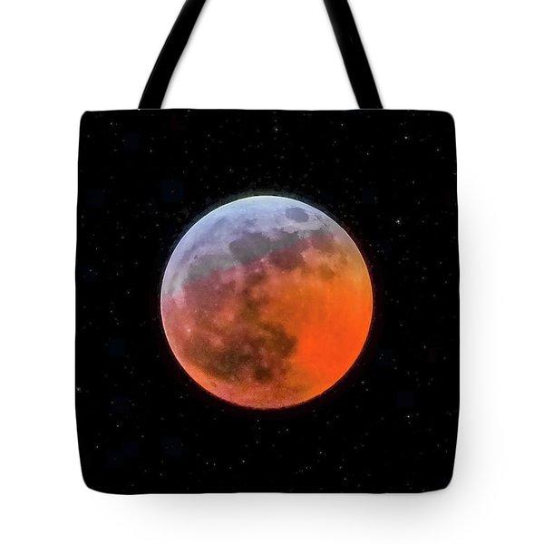 Super Blood Moon Eclipse 2019 Tote Bag