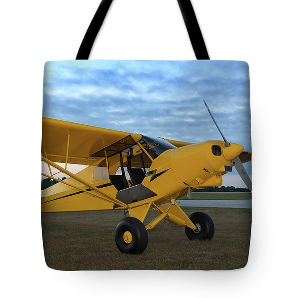 Super Cub At Daybreak Tote Bag