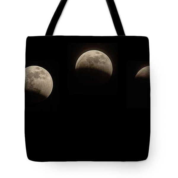 Super Wolf Blood Moon Eclipse Sequence Tote Bag
