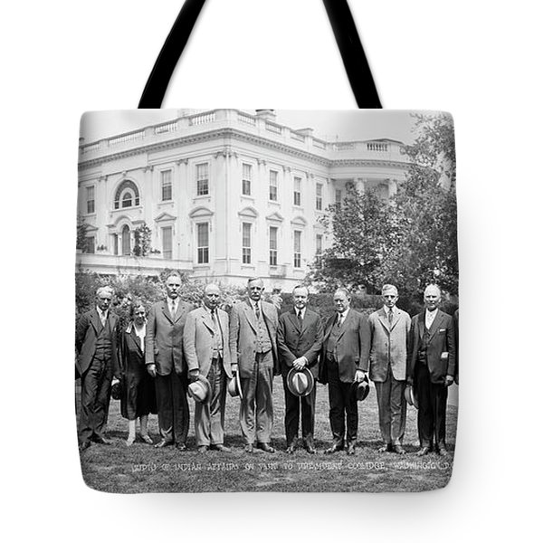Superintendents Of Indian Affairs Tote Bag