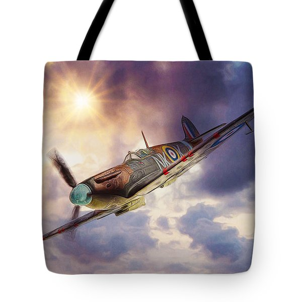 Supermarine Spitfire Tote Bag