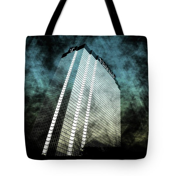 Surrounded By Darkness Tote Bag