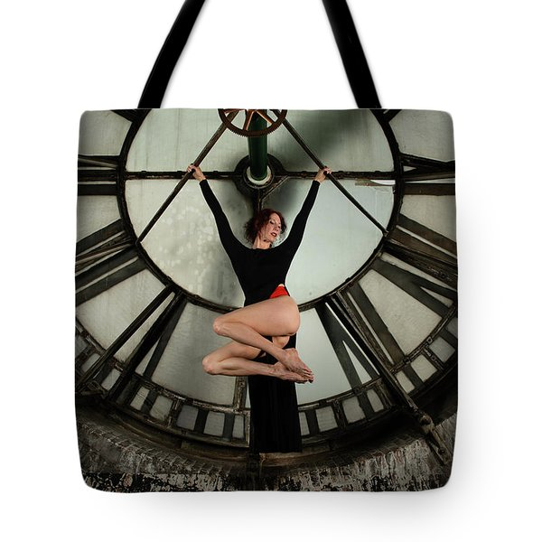 Tote Bag featuring the photograph Suspended Time by Dennis Dame