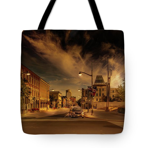 Tote Bag featuring the photograph Sussex Dr by Juan Contreras
