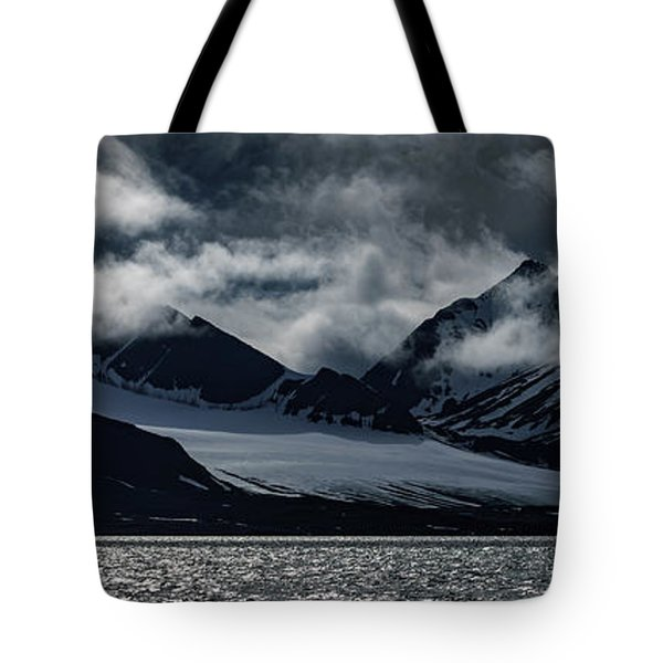 Svalbard Mountains Tote Bag