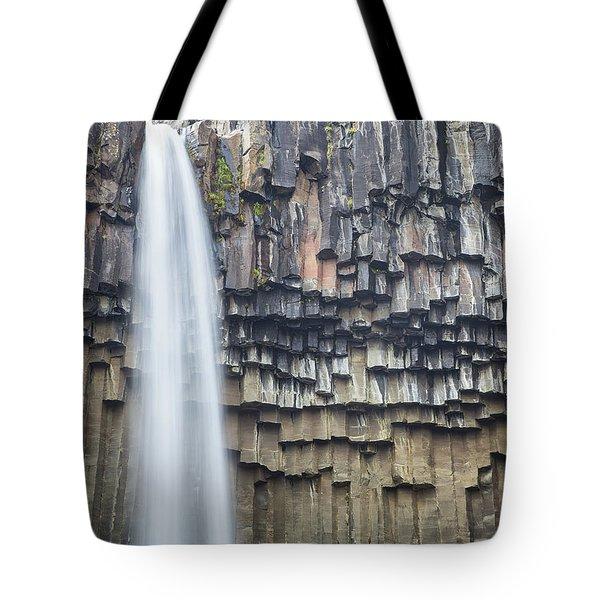 Svartifoss Portrait Iceland Tote Bag