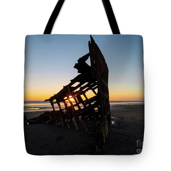 Swallowed By Time Tote Bag