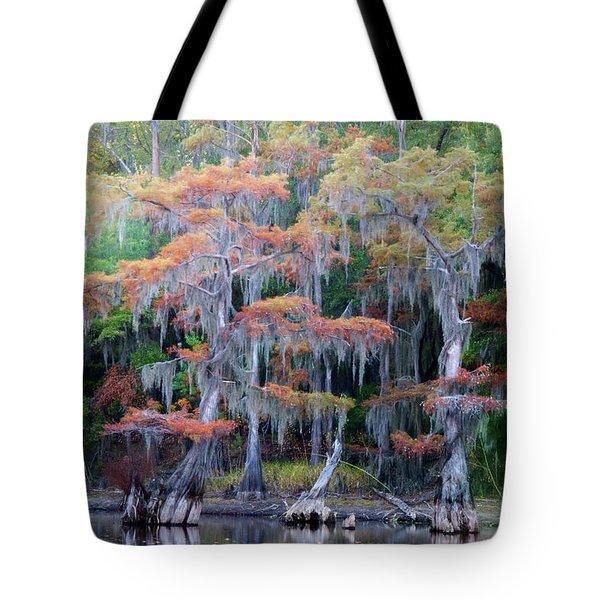 Swamp Dance Tote Bag