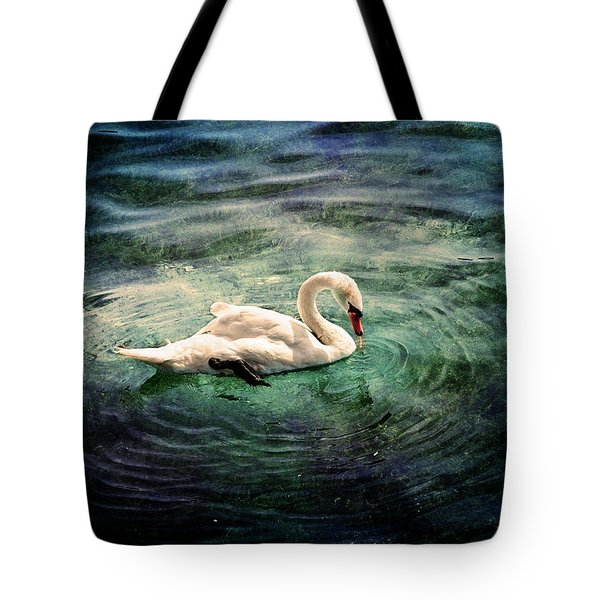 Swan, Lake Constance Germany Tote Bag