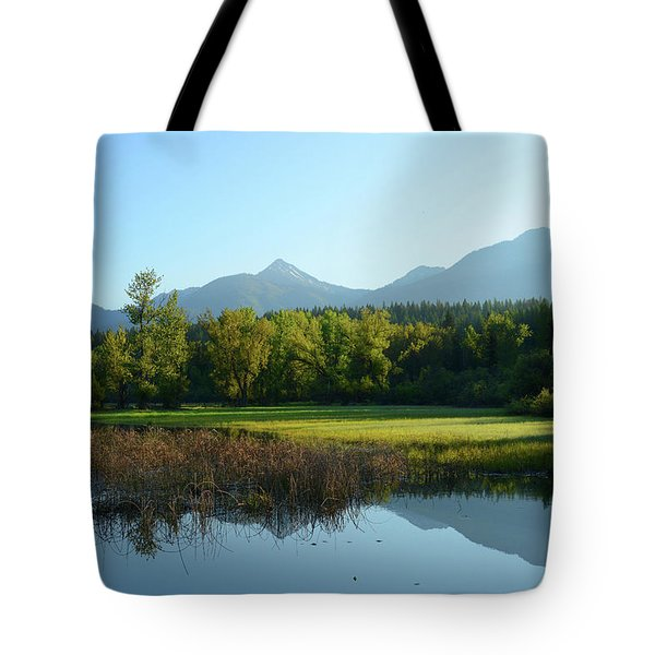 Swan Valley Reflections Tote Bag