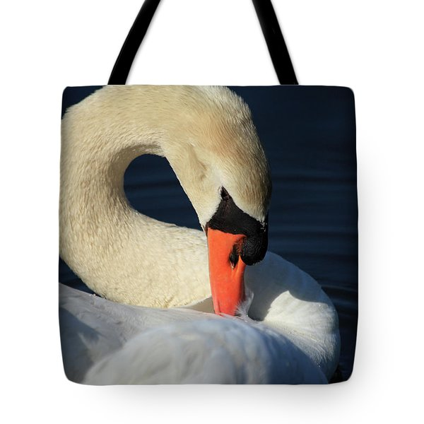 Swans Beauty Tote Bag
