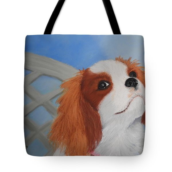 Sweet Lily Tote Bag