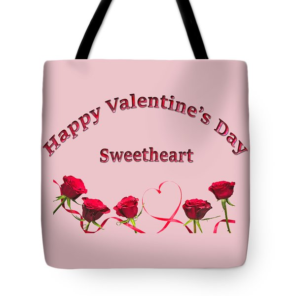 Sweetheart Rose Tote Bag