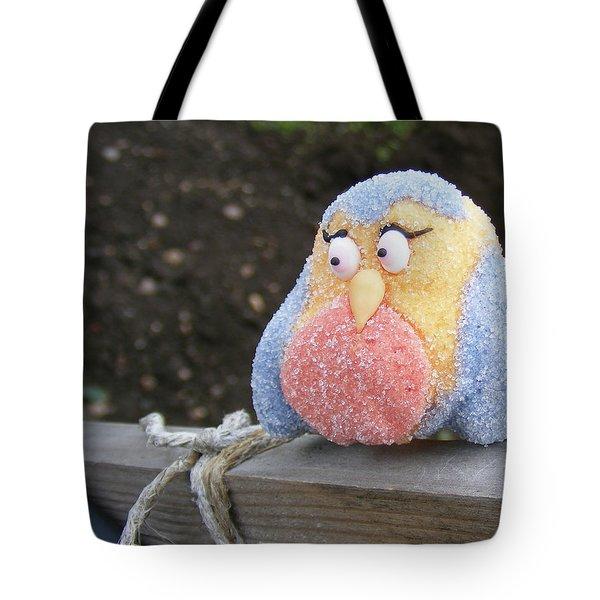 Sweetly Shy Tote Bag